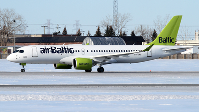 C-FOVL - Bombardier CSeries CS300 - Air Baltic