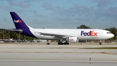 N662FE - Airbus A300F4-605R - FedEx