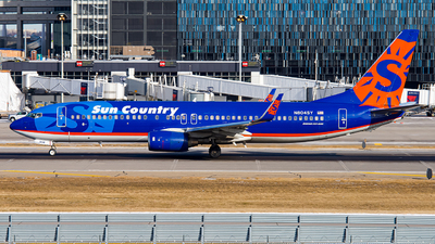 A picture of N804SY - Boeing 7378Q8 - Sun Country Airlines - © Lynn Aisin-Gioro