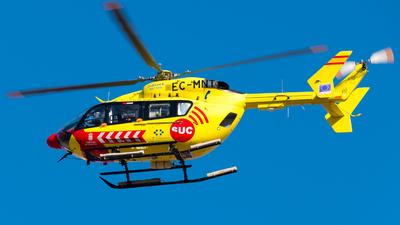 A picture of ECMNT - Airbus Helicopters H145 - Babcock MCS Espana - © Pablo Gonzalez de Leon