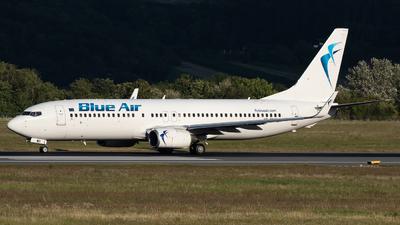 YR-BMS - Boeing 737-8Q8 - Blue Air