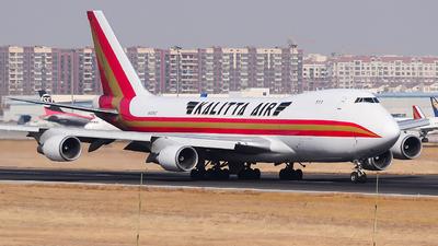 A picture of N403KZ - Boeing 747481F - Kalitta Air - © Fei Yu