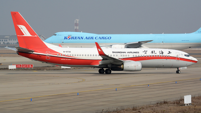 B-5730 - Boeing 737-86D - Shanghai Airlines