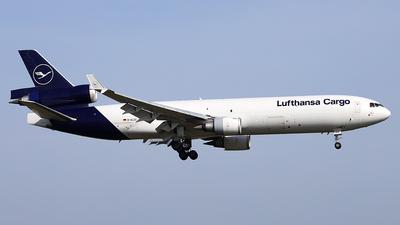 A picture of DALCC - McDonnell Douglas MD11F - Lufthansa Cargo - © Philipp Schuetz