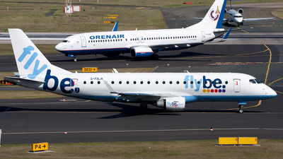 G-FBJK - Embraer 170-200STD - Flybe