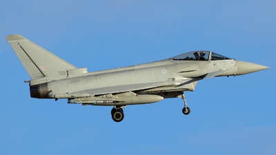 A picture of ZK333 - Eurofighter Typhoon FGR.4 -  - © Carlos Barcelo