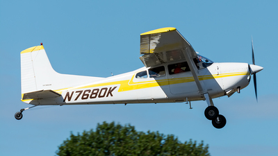 N7680K - Cessna 180J Skywagon - Private