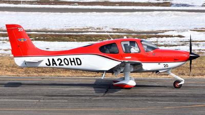 JA20HD - Cirrus SR22 - Japan - Civil Aviation College