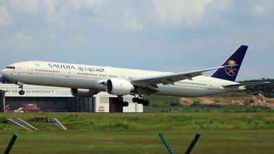 HZ-AK30 - Boeing 777-368ER - Saudi Arabian Airlines