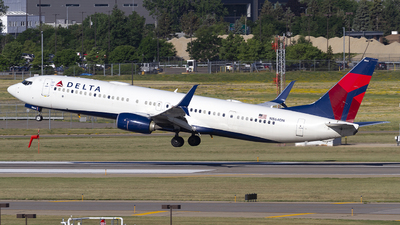 A picture of N864DN - Boeing 737932(ER) - Delta Air Lines - © Jeremy D. Dando