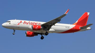 PR-OCV - Airbus A320-214 - Avianca Brasil