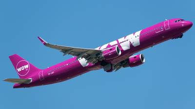 TF-JOY - Airbus A321-211 - WOW Air