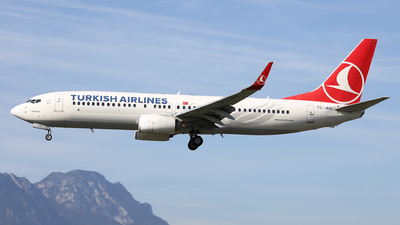 A picture of TCJHS - Boeing 7378F2 - Turkish Airlines - © Karl Dittlbacher