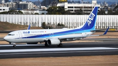 A picture of JA80AN - Boeing 737881 - All Nippon Airways - © Tetsu Yamada