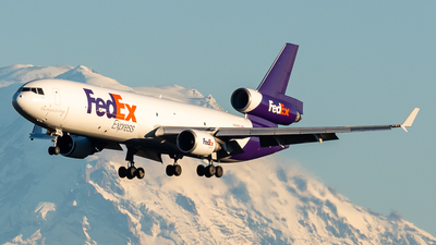 A picture of N596FE - McDonnell Douglas MD11F - FedEx - © Nick Sheeder