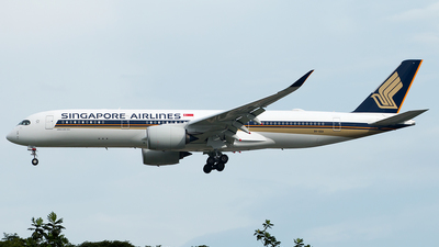 9V-SGA - Airbus A350-941 - Singapore Airlines