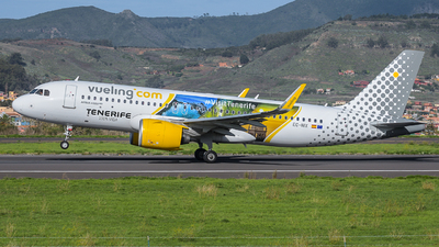 A picture of ECNIX - Airbus A320271N - Vueling - © Wings77