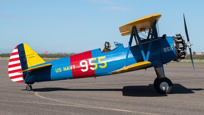 N9955H - Boeing A75N1 Stearman - Private
