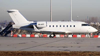 9H-ART - Bombardier CL-600-2B16 Challenger 601-3A - Air CM Global