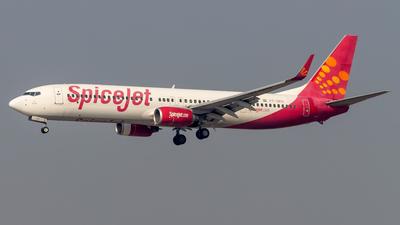 VT-SPU - Boeing 737-9GJER - SpiceJet