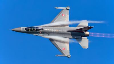 E-607 - General Dynamics F-16AM Fighting Falcon - Denmark - Air Force