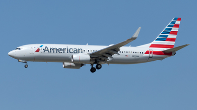 A picture of N878NN - Boeing 737823 - American Airlines - © Yixin Chen