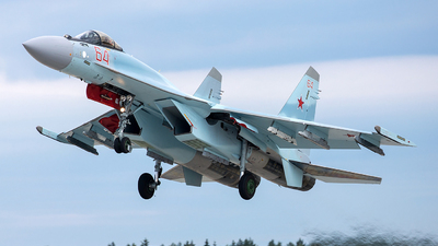 RF-81755 - Sukhoi Su-35S - Russia - Air Force