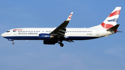ZS-ZWS - Boeing 737-86N - British Airways (Comair)