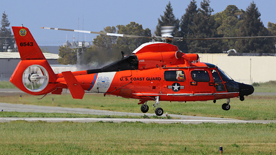 6543 - Aérospatiale MH-65D Dolphin - United States - US Coast Guard (USCG)