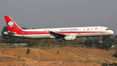 B-6551 - Airbus A321-231 - Sichuan Airlines