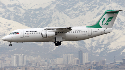 EP-MON - British Aerospace Avro RJ100 - Mahan Air
