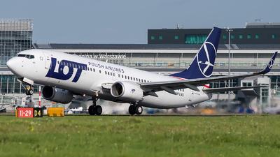 A picture of SPLWG - Boeing 73786N - LOT - © Łukasz Jagodziński