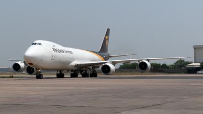 N606UP - Boeing 747-84AF - United Parcel Service (UPS)