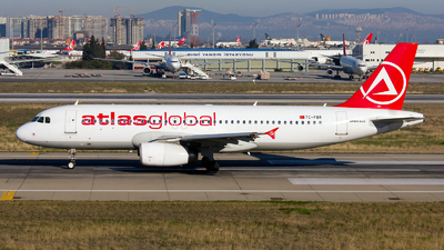 TC-FBR - Airbus A320-232 - AtlasGlobal