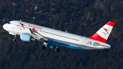 OE-LBR - Airbus A320-214 - Austrian Airlines (Tyrolean Airways)