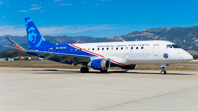 N651QX - Embraer 170-200LR - Alaska Airlines (Horizon Air)