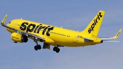 A picture of N624NK - Airbus A320232 - Spirit Airlines - © Nick Neiger