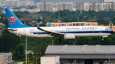 A picture of B1237 - Boeing 73781B - China Southern Airlines - © Miaomiao