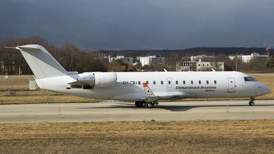 OY-CRJ - Bombardier CRJ-200LR - Global Reach Aviation (Copenhagen Air Taxi (CAT))