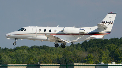 N634QS - Cessna 560XL Citation XLS - NetJets Aviation