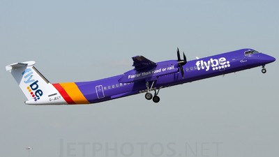 G-JECY - Bombardier Dash 8-Q402 - Flybe