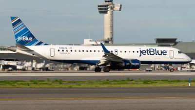 A picture of N368JB - Embraer E190AR - JetBlue Airways - © Luis Bastardo