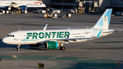 A picture of N339FR - Airbus A320251N - Frontier Airlines - © Gordon Leung | Gordon.280