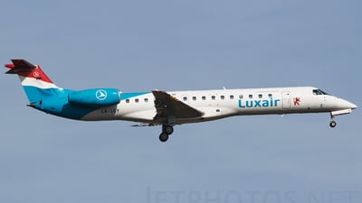 LX-LGY - Embraer ERJ-145LU - Luxair - Luxembourg Airlines