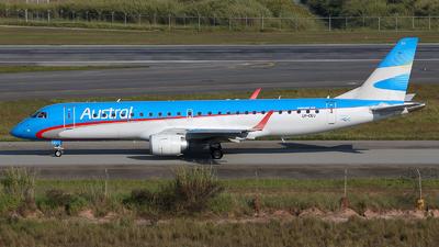 LV-CEU - Embraer 190-100IGW - Austral Líneas Aéreas