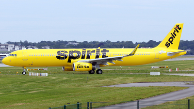 D-AVYY - Airbus A321-231 - Spirit Airlines