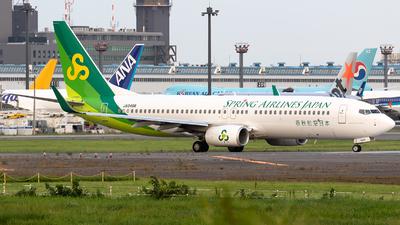 JA04GR - Boeing 737-8AL - Spring Airlines Japan
