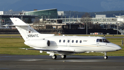 N264TC - Hawker Beechcraft 750 - Private