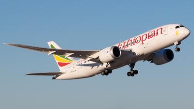 ET-ASG - Boeing 787-8 Dreamliner - Ethiopian Airlines