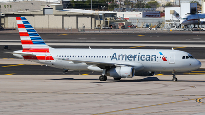N673AW - Airbus A320-232 - American Airlines